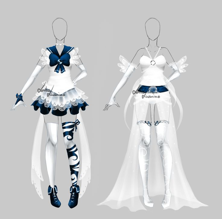 Outfit design - 183 - Sailor outfit - closed by LotusLumino on DeviantArt