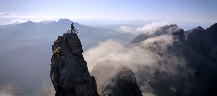 Breathtaking #cycle stunt #video