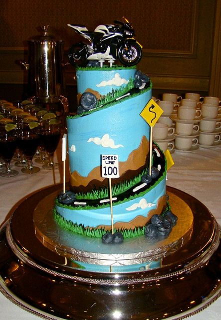 Pin By Sweet Treets Bakery On Groom S Cakes Motorbike