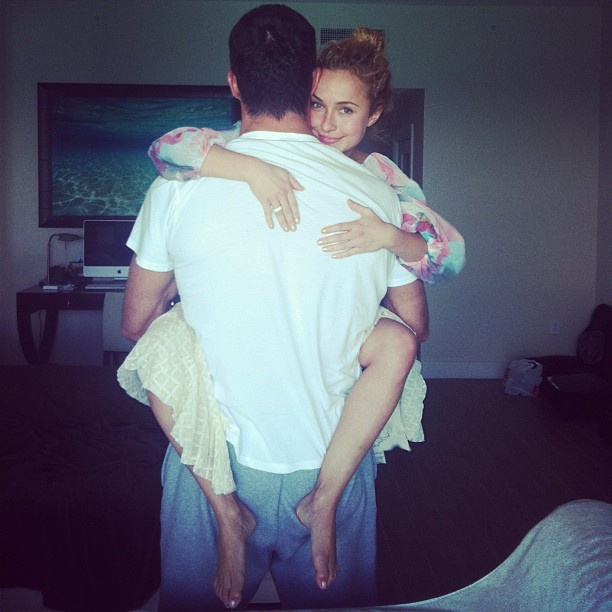 cutest picture | Hayden Panettiere and Wladimir Klitschko