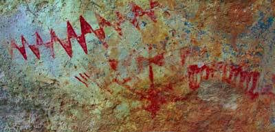 Jornada-rock-art. Hallucinogenic Plants May Be Key to Decoding Ancient Southwestern Paintings, Expert Says