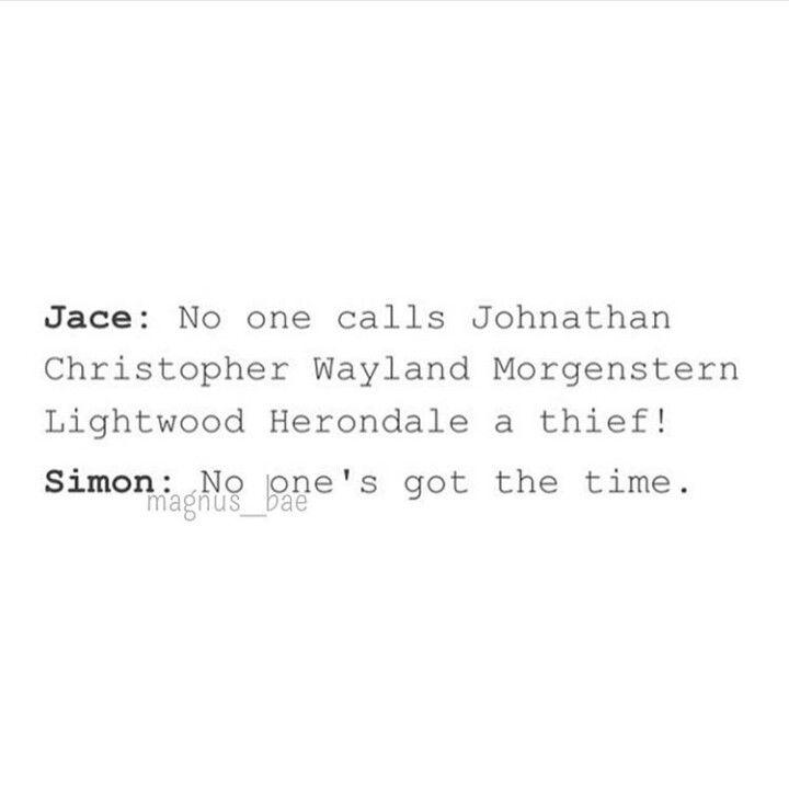 And Simon finally gets Jace!!!!! You savage!!!!!