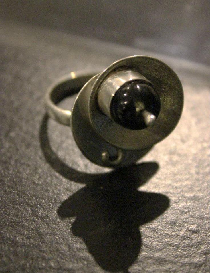 anillo con cuarzo rutilado