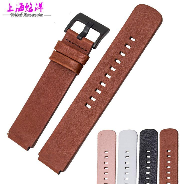 Мягкой телячьей кожи кожаный ремешок для часов для HUAWEI часы умные часы черный и белый мужчины и женщины заменить браслеты