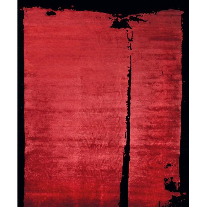 Ковер Красные и черные чернила Ink Red Black