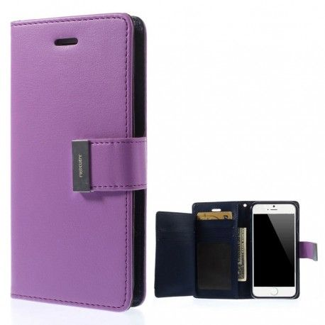 Apple iPhone 6 Plus Violetti Rich Diary Kotelo  http://puhelimenkuoret.fi/tuote/apple-iphone-6-plus-violetti-rich-diary-kotelo/