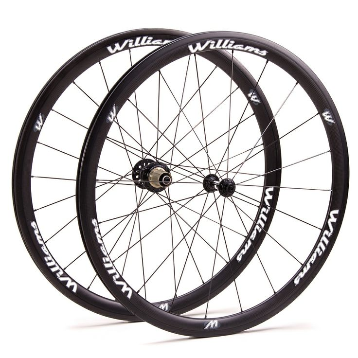 Williams System 38 Carbon Clincher Wheelset, discount through cyclo-core club