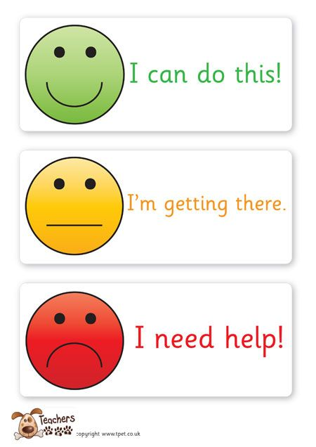Teacher's Pet - Smiley face assessment cards - FREE Classroom Display Resource - EYFS, KS1, KS2, smiley, face, self, assessment, traffic, lights