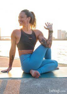 sitting half spinal twist  yoga poses poses yoga