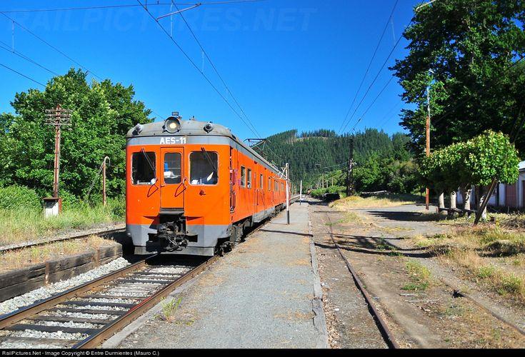 RailPictures.Net Photo: AES-11 EFE Fiat Concord at San Rosendo, Chile by Entre Durmientes (Mauro C.)