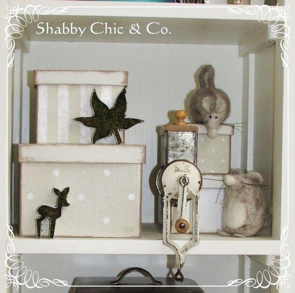 Süße kleine und allte Mandelmühle im shabby Look von Shabby Chic & Co. auf DaWanda.com