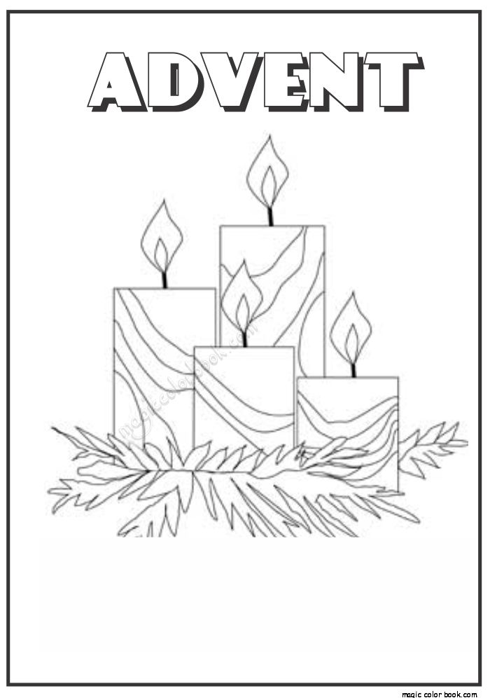 advent coloring pages joy - photo#19
