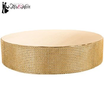 Get Champagne Gold Cake Stand online or find other Cake Toppers products from HobbyLobby.com