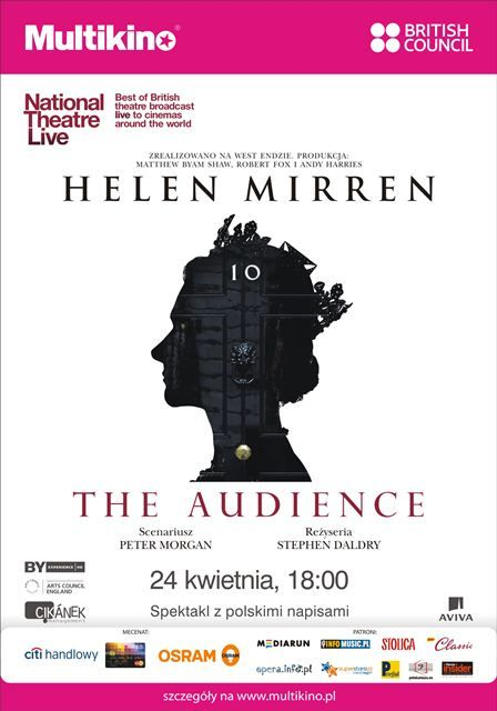 """""""The Audience"""". Spektakl nagrano w słynnym londyńskim Royal National Theatre. 24 kwietnia o 18.00 - seans specjalny w ramach cyklu """"Brytyjskie teatry w Multikinie"""". PREZENTY/ WEJŚCIÓWKI dla zarejestrowanych użytkowników i subskrybentów Newslettera Art Imperium.  http://artimperium.pl/wiadomosci/pokaz/243,the-audience-z-helen-mirren-w-roli-glownej-w-multikinie#.U0p03vl_uSo"""