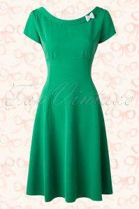 Hulahup Green Bow Swing Dress 17900 20151214 0012W