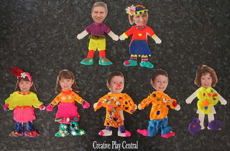 Such a fun idea with playdough from Creative Play Central...all ages can join in and enjoy!