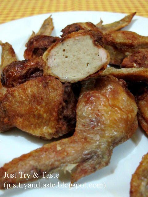 Resep Sayap Ayam Isi (Tori no Teba) JTT