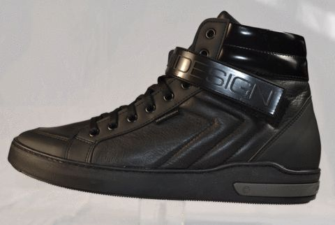 Momodesign black leather shoe