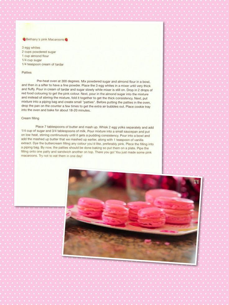 how to make macarons bethany mota