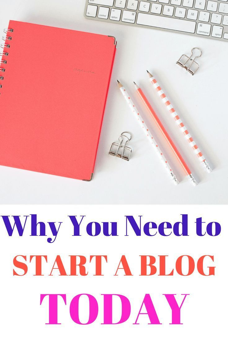Don't be afraid to start a blog. It really can change your life if you give it time!! Here are reasons you need to start a blog today!