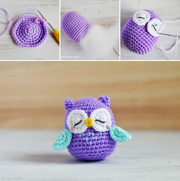 How to Make Amigurumi Crochet Owl - Crochet - Handimania. DIY crafts