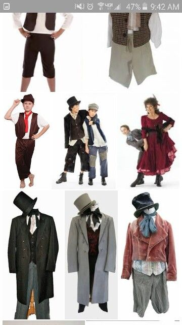 Oliver twist costume ideas
