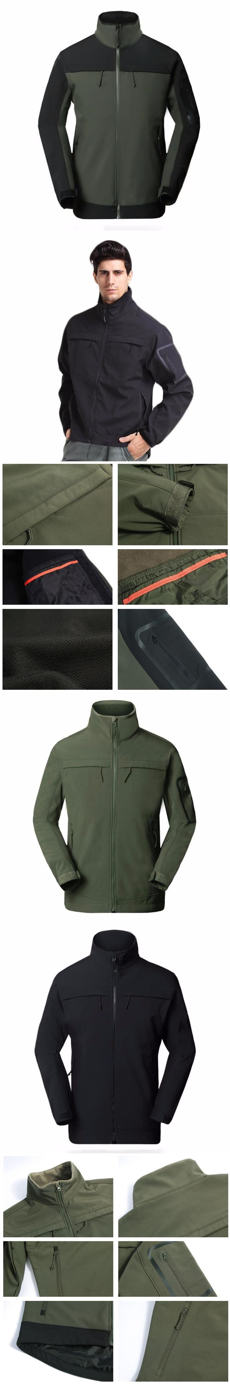 Tactical military Shark skin softshell clothing men's waterproof coat army windcheater male Windproof jacket casual male clothes