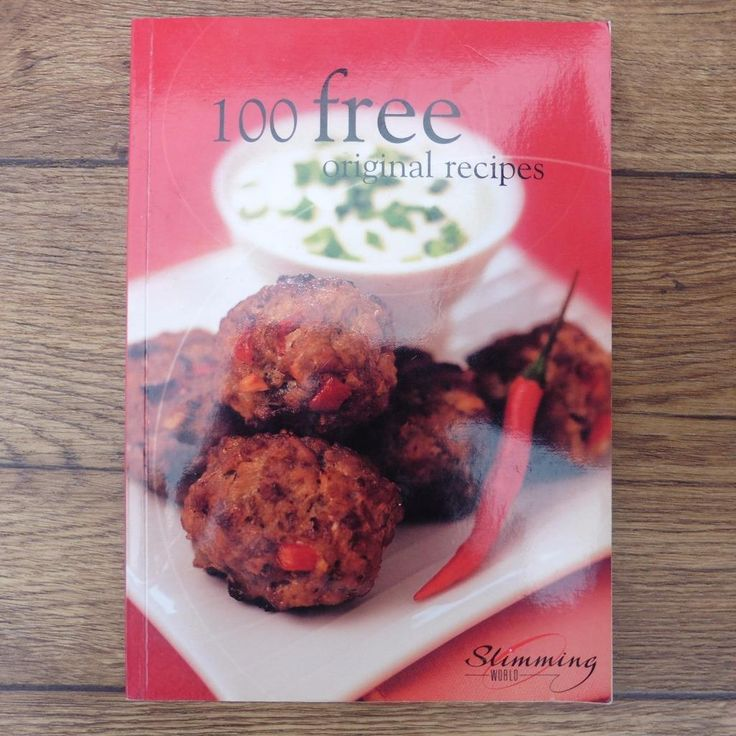 SLIMMING WORLD 100 FREE ORIGINAL RECIPES - COOKERY COOK BOOK DIET RECIPE BOOK | eBay