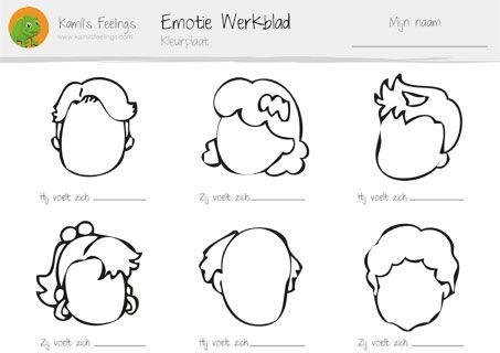 emoties tekenen voor kinderen - Bing Images