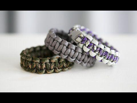 Armband av tjockt knytsnöre – Basic Paracord bracelets | Craft & Creativity – Pyssel & DIY