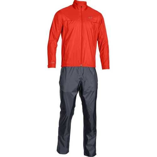 Under Armour Men's Storm Golf Rain Suit - Fuego/Steel