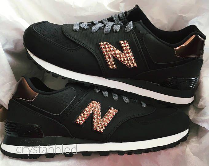 Women s New Balance 574 - Swarovski New Balance - Bling New Balance - Bling  Shoes - Blinged Shoes - Swarovski Crystals -…  0969442056