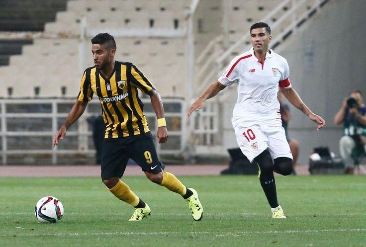 AEK-Sevilla FC 1-1 8-8-2015 #AEK #AEKFC