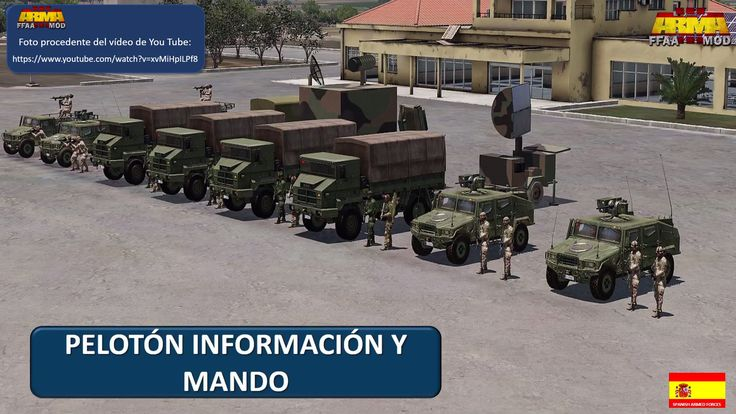 HAWK missile system from SPANISH ARMED FORCES. Video available on You Yube:  https://www.youtube.com/watch?v=xvMiHpILPf8
