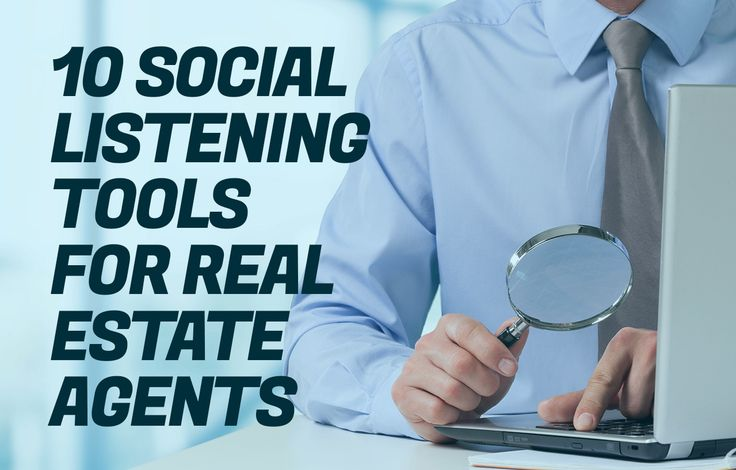 Enhance your real estate branding with these 10 easy-to-use social listening tools, each of which can significantly help your real estate brand monitoring. http://plcstr.com/1O34J9k #realestate #socialmedia