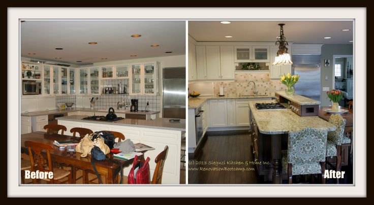 Reorienting the centre island during this #kitchen upgrade made the working area far more functional and improved flow