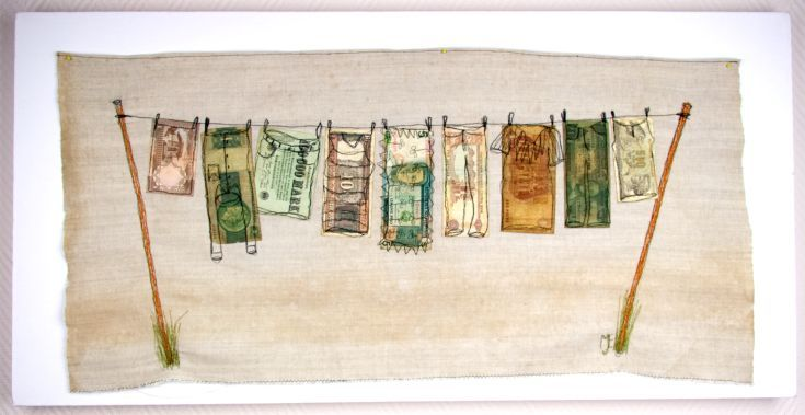 Buy Money Laundering, mixed media collage, Collage by Mariann Johansen-Ellis on Artfinder. Discover thousands of other original paintings, prints, sculptures and photography from independent artists.