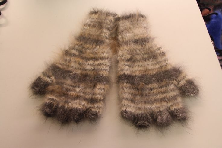 Spoil yourself or someone special with a pair of super soft Angora Mittens http://bit.ly/2h7irSK Hand knitted in white, charcoal and ginger yarn colours.