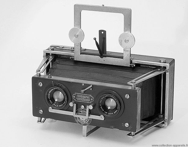 Baudry Isographe Vintage cameras collection by Sylvain Halgand. 1928-45