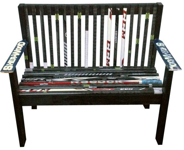 Unique and Custom Hockey Stick Furniture - Kevin Sychowski: Custom Hockey Stick Furniture, Decor and More