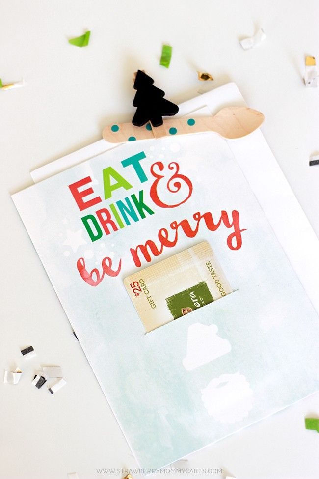 The perfect gift for the foodie in your life #WrappedInStyle with a free printable!
