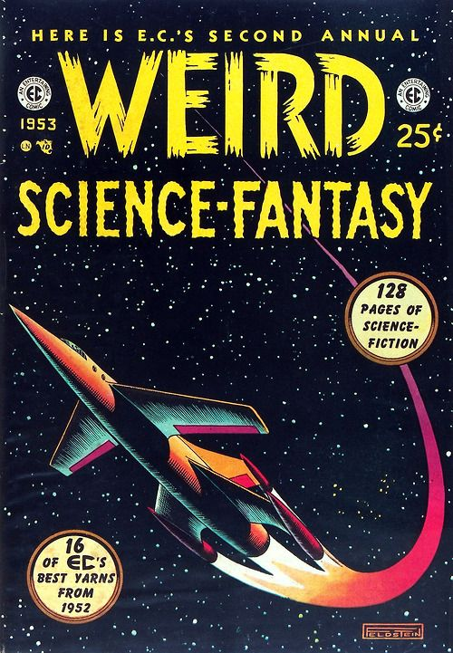 Weird Science-Fantasy cover