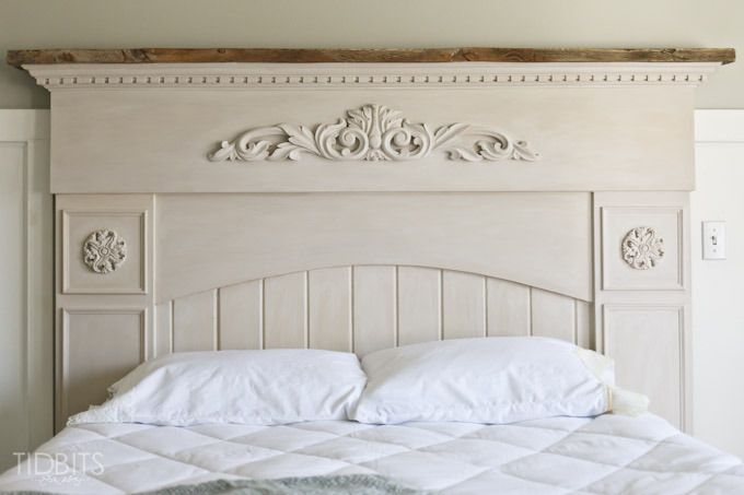 Master Bedroom Progress | The Headboard - Tidbits