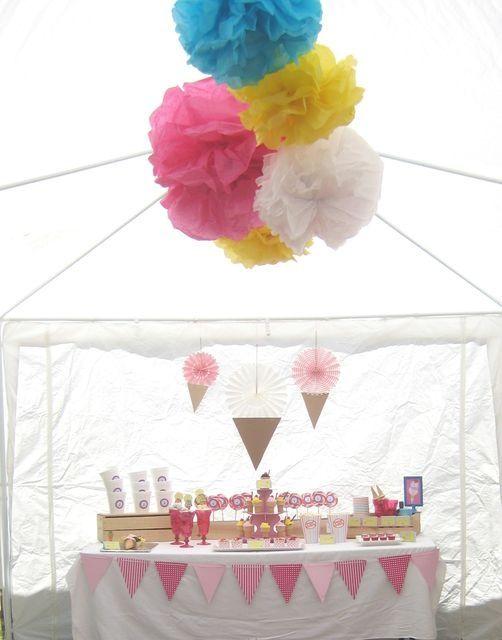 Blog My Little Party - Ideas e Inspiración para Fiestas: Fiestas Temáticas: Helados