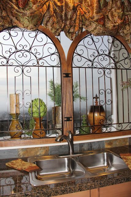 breathtaking tuscan style kitchen windows   17 Best images about MEXICAN DECOR on Pinterest ...