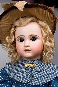 "24"" Seldom found Steiner Figure A bebe with lever eye mechanism! #dollshopsunited"