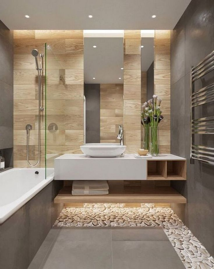 19 Stunning Plywood Bathroom Wall Design Ideas Mod…