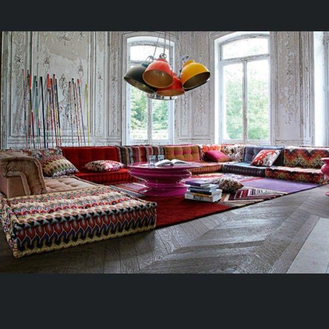 die besten 20+ orientalische sitzecke ideen auf pinterest - Pink Orientalisch Wohnzimmer