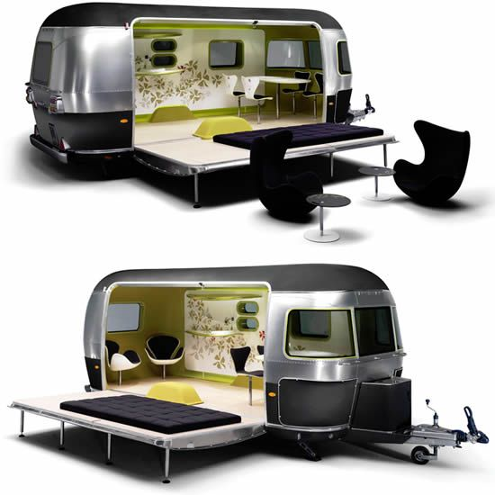 Surfs Up Mini Cooper S Clubman Airstream Combo Camping