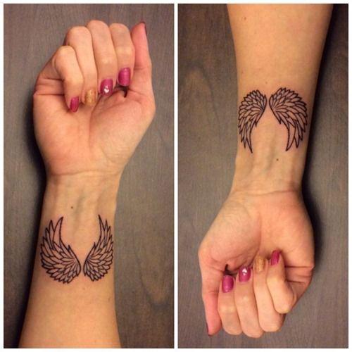 Top Angel Wings Tattoo Ideas (Part 1) (11)